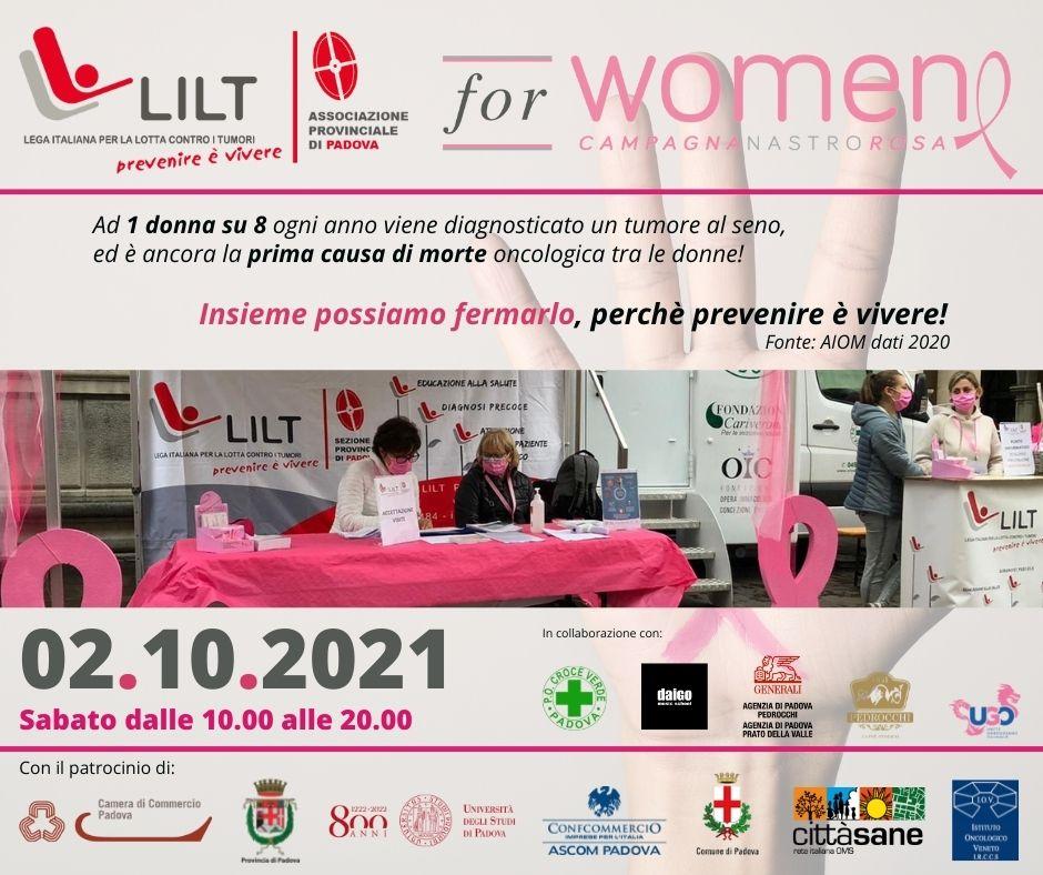 Musica e Prevenzione a Padova: 2 ottobre 2021